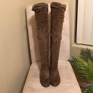 Aldo Over The Knee Slouch Boots